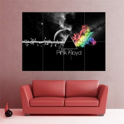 Pink Floyd Dark Side of the Moon Block Giant Wall Art Poster (P-1717)