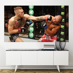 Conor Mcgregor UFC Kickboxing Block Giant Wall Art Poster (P-1718)