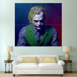 Joker Batman Heath Ledger Block Giant Wall Art Poster (P-1722)
