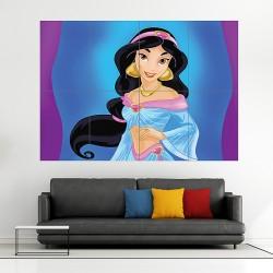 โปสเตอร์ ขนาดใหญ่ การ์ตูน Disney Princess Jasmine เจ้าหญิงจัสมิน (P-1727)