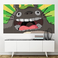 โปสเตอร์ ขนาดใหญ่ ภาพการ์ตูน โทโทโร่เพื่อนรัก Anime Totoro  (P-1728)
