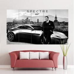James Bond 007 Spectre Movie Block Giant Wall Art Poster (P-1730)