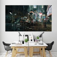BLADE RUNNER MOVIE POSTER HARRISON FORD SCI FI MOVIE ART WALL LARGE IMAGE GIANT