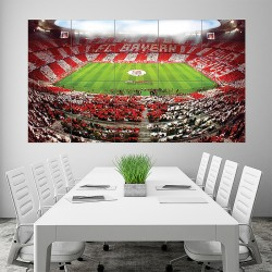 FC Bayern Munich Allianz Arena germany football soccer Block Giant Poster (P-1735)