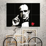 The Godfather Block Giant Wall Art Poster