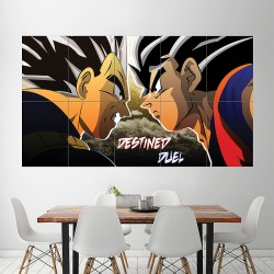 Dragon Ball z Goku Vegeta Block Giant Wall Art Poster (P-1743)