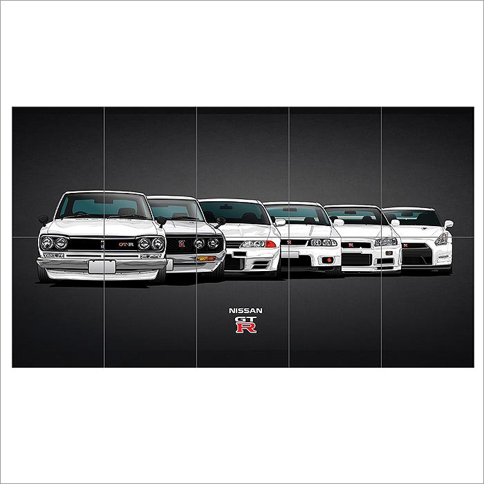 Nissan Skyline Gtr Evolution For Twitter Header Block