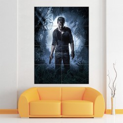 Uncharted 4 Block Giant Wall Art Poster (P-1750)
