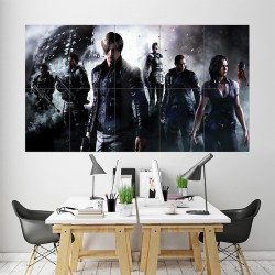 Resident Evil 6 Block Giant Wall Art Poster (P-1752)