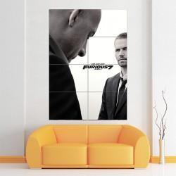 โปสเตอร์ ขนาดใหญ่ ภาพยนต์ Furious 7 Paul Walker (P-1758)