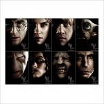 โปสเตอร์ ขนาดใหญ่ Harry Potter Fantasy Adventure Witch Series Wizard Magic