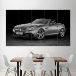 2016 Mercedes Benz SLC 300 Block Giant Wall Art Poster