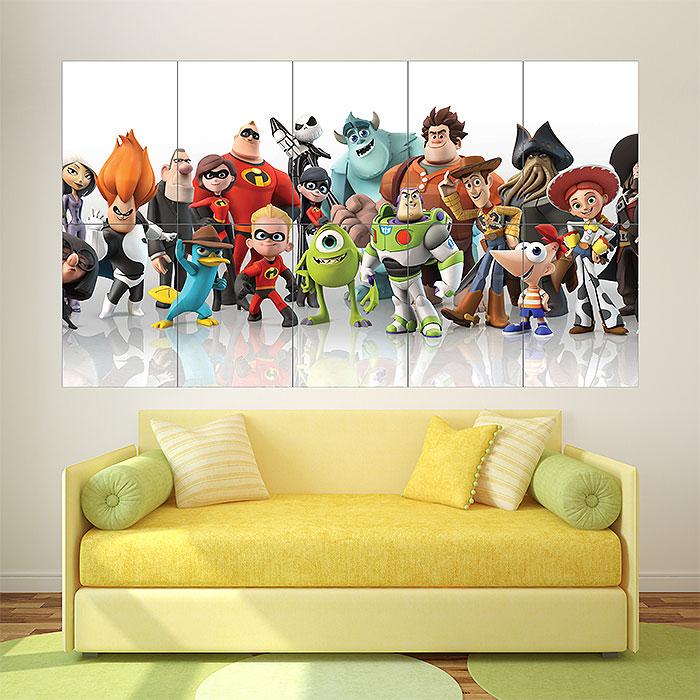 Disney Infinity Block Giant Wall Art Poster