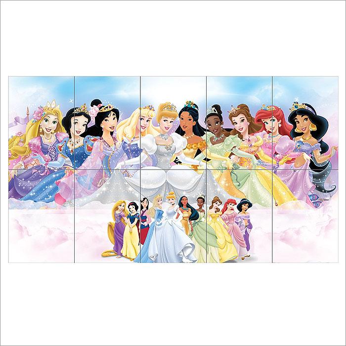 Disney Princess Block Giant Wall Art Poster