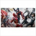 โปสเตอร์ ขนาดใหญ่ Captain America Civil War  กัปตันอเมริกา