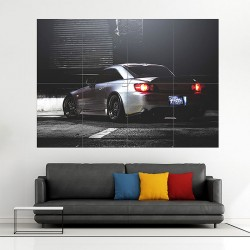 Honda S2000 Block Giant Wall Art Poster (P-1794)