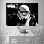 Stormtrooper Star Wars Block Giant Wall Art Poster