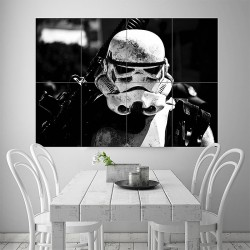Stormtrooper Star Wars Block Giant Wall Art Poster (P-1796)