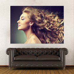 Hair Block Giant Wall Art Poster (P-1797)