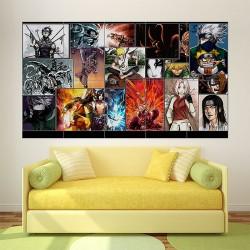 Naruto Manga Anime Block Giant Wall Art Poster (P-1799)