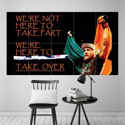 UFC Conor McGregor Kickboxing Block Giant Wall Art Poster (P-1800)