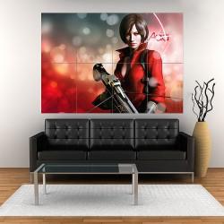โปสเตอร์ ขนาดใหญ่ ภาพ เอด้า วอง Ada Wong Resident Evil (P-1802)