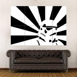 โปสเตอร์ ขนาดใหญ่ สตอร์มทรูปเปอร์ Stormtrooper Star Wars  (P-1808)