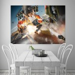 The Fast and the Furious VIN Diesel Block Giant Wall Art Poster