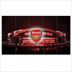 Arsenal Fc football club Emirates Stadium London Block Giant Poster