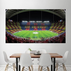 FC Barcelona Barca Football Soccer Stadium Block Giant Poster (P-1816)
