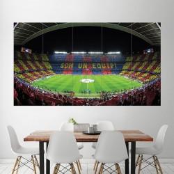 โปสเตอร์ ขนาดใหญ่ สนามฟุตบอล FC Barcelona Barca Football Soccer Stadium  (P-1816)