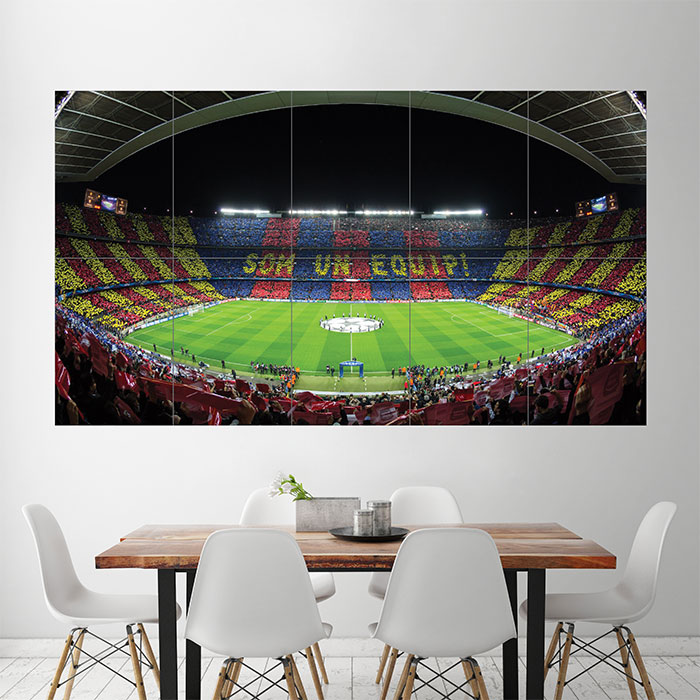 Fc Barcelona Barca Football Soccer Stadium Kunstdruck