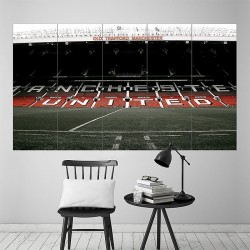 Old Trafford Stadium Football Soccer Block Giant Poster (P-1817)