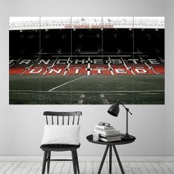 โปสเตอร์ ขนาดใหญ่ สนามฟุตบอล Old Trafford Stadium Football Soccer  (P-1817)