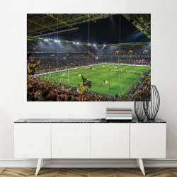 Borussia Dortmund Westfalenstadion Stadium Soccer Block Giant Poster (P-1818)