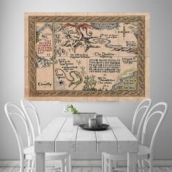 โปสเตอร์ ขนาดใหญ่ ภาพแผนที่ Maps of Middle Earth #1  (P-1828)