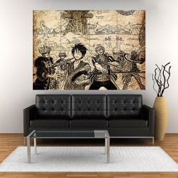One Piece Supernovas Block Giant Wall Art Poster (P-1850)
