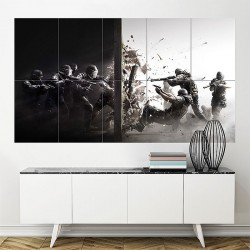 Tom Clancy's Rainbow Six Siege Block Giant Wall Art Poster (P-1855)
