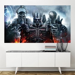The Witcher 3 Wild Hunt Art Game Block Giant Wall Art Poster (P-1862)