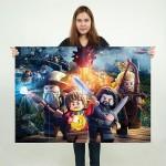 โปสเตอร์ ขนาดใหญ่ เกมส์เลโก้ฮอบบิท Lego the Hobbit