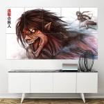 Attack on Titan Anime Shingeki no Kyojin Block Giant Wall Art Poster