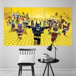 โปสเตอร์ ขนาดใหญ่ ภาพการ์ตูน 2017 the Lego Batman Movie (P-1874)
