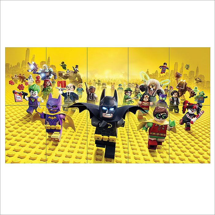 2017 The Lego Batman Movie Block Giant Wall Art Poster