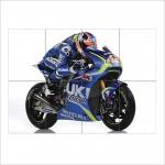 Valentino Rossi  Suzuki Motogp Bike Block Giant Wall Art Poster