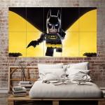 โปสเตอร์ ขนาดใหญ่ ภาพการ์ตูน The Lego Batman เลโก้