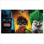 โปสเตอร์ ขนาดใหญ่ ภาพการ์ตูน The Lego Batman Joker Robin