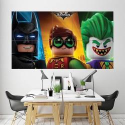 โปสเตอร์ ขนาดใหญ่ ภาพการ์ตูน The Lego Batman Joker Robin  (P-1878)