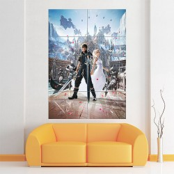 Final Fantasy XV Block Giant Wall Art Poster (P-1879)