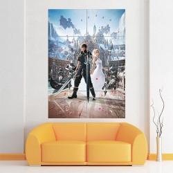 โปสเตอร์ ขนาดใหญ่ เกมส์ Final Fantasy XV  ไฟนอลแฟนตาซี (P-1879)