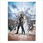 โปสเตอร์ ขนาดใหญ่ เกมส์ Final Fantasy XV ไฟนอลแฟนตาซี